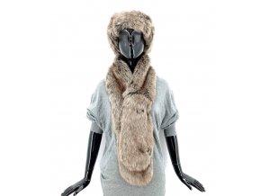 BALENO Límec a čelenka z umělé kožešiny