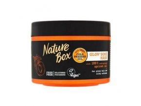 nature box maska na vlasy s broskvovym olejem