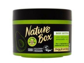 nature box telove maslo s avokadovym olejem