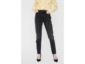 Dámské High rise džíny Vero Moda, černé