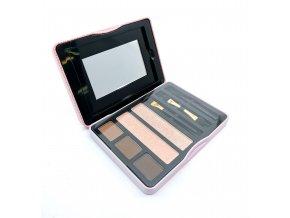 Gorgeous - 5-Color Eyebrow Perfection Paletka na obočí a rozjasňovač 5 COLOR FAB