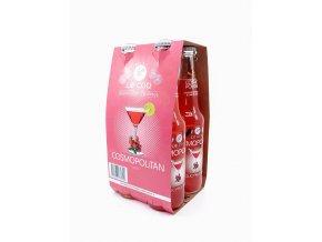 Alkoholický nápoj COSMOPOLITAN 4x330 ml