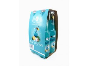 Alkoholický nápoj BLUE LAGOON 4x330 ml