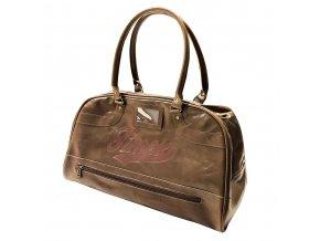 Sportovní taška TIMEX, hnědá