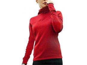 Brandsseller Damen Fitness Thermo Laufshirt Running Outdoor Funktionsshirt Rot L von Brandsseller 587237461
