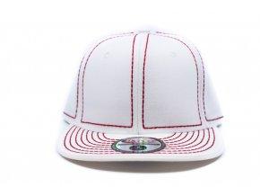 HATCO kšiltovka - bíla s červeným