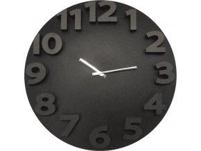 Nástěnné hodiny Proheim s 3D číslicemi