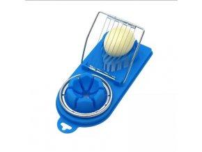 HL 0008 Egg Cutters Egg Slicer Splitter Non toxic Plastic Creative Kitchen Gadget