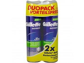 gillette duopack sensitive 2x250ml
