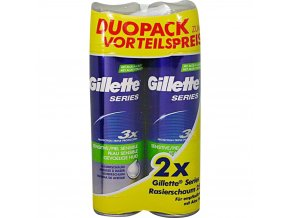 gillette duopack sensitive 2x250ml