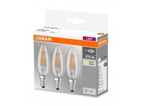 OSRAM LED Base žárovka 40W/E14 3ks