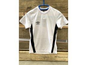 Umbro pánské a dětské bavlněné sportovní triko, bílé