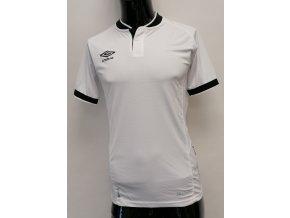 Umbro pánské POLO triko, bílé s černým límečkem