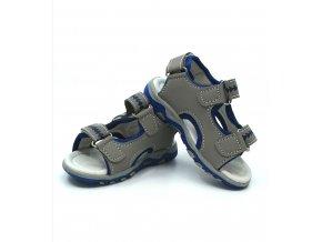 Dětské /chlapecké / sandály s modrým Happy bee