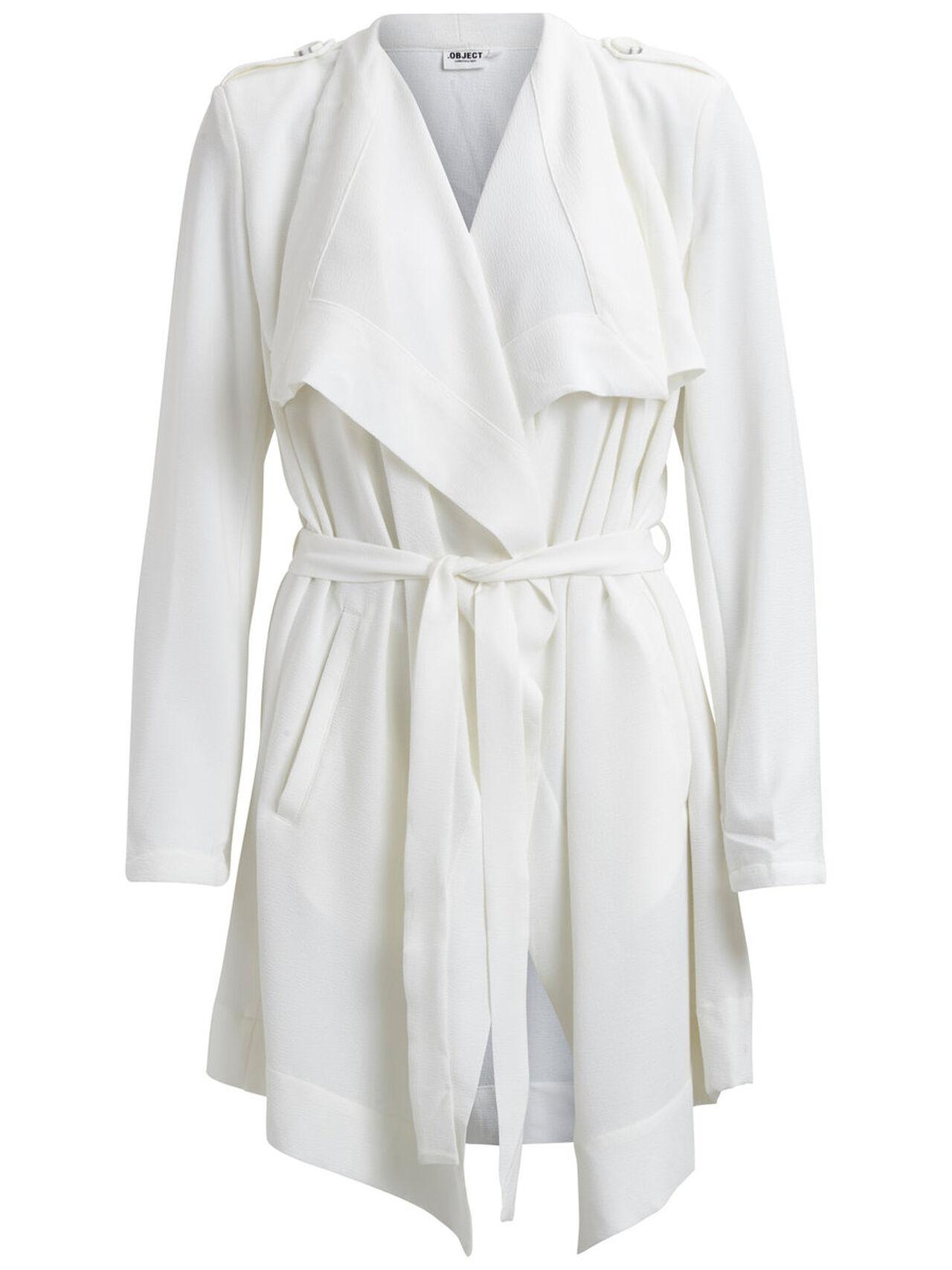 Object Dámský jarní kabát bílý *Velikosti textil: S