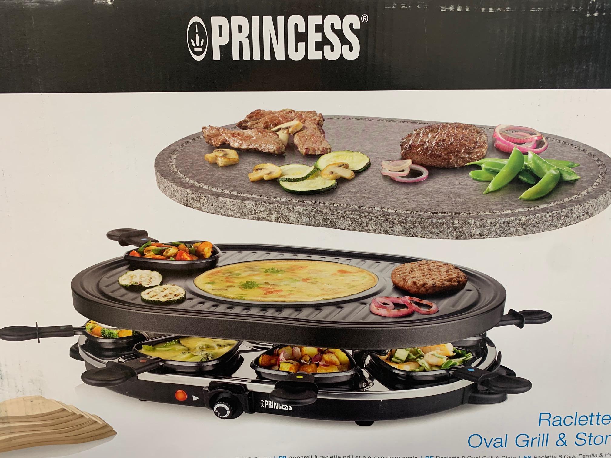Rakletovací gril Princess pro 8 osob