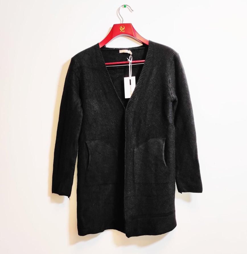 Dámský pletený svetr/cardigan Season, černý Velikost: S/M