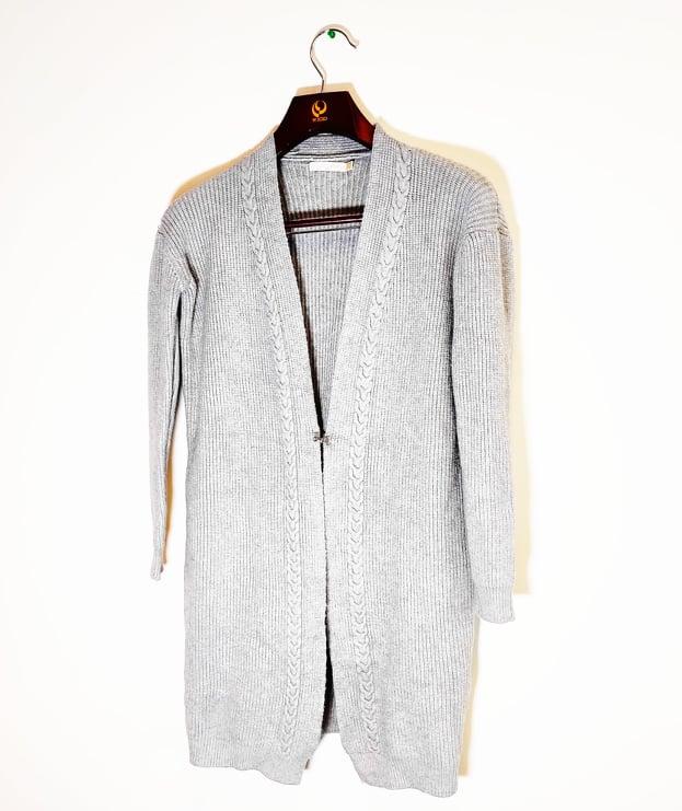 Dámský pletený svetr/cardigan Season Barva: Bílá M/L