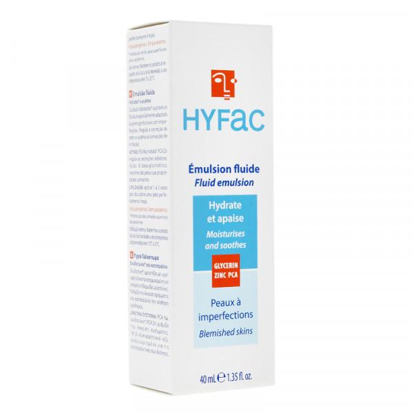 HYFAC ochranná fluidní emulze proti akne, 40ml