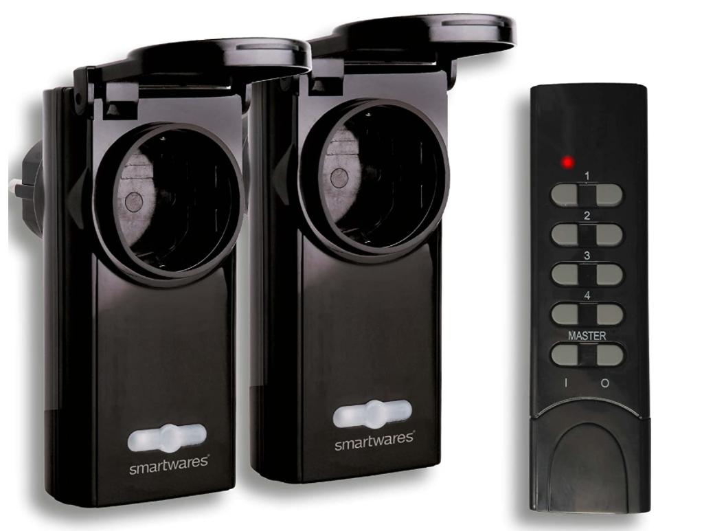 Sada 2 bezdrátových ovládacích venkovních zásuvek Smartwares SmartHome SH5-SET-OP36