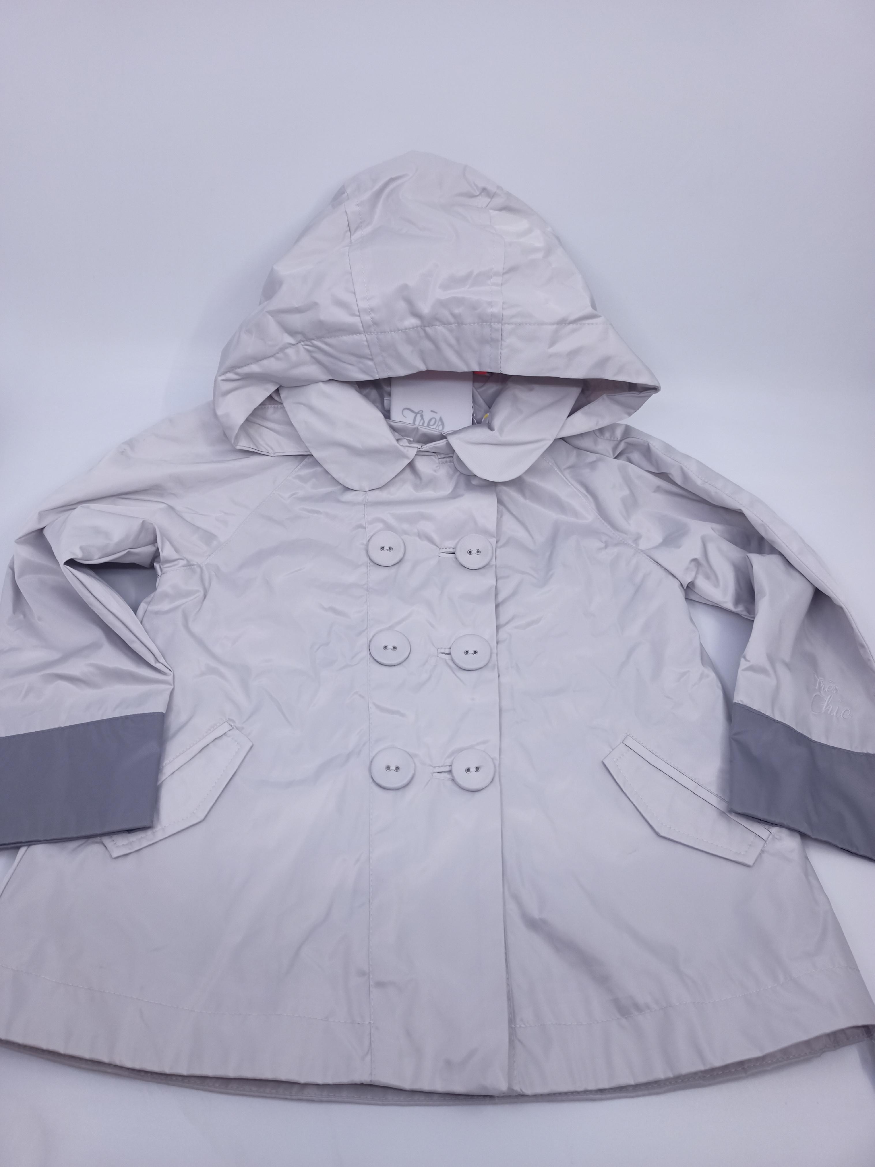 Dívčí nepromokavý kabátek Marése, šedý *Velikosti textil: 12 let
