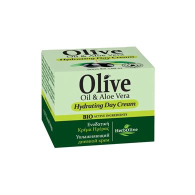 HerbOlive Denní hydratační krém s aloe vera 50ml