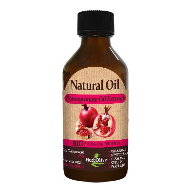 HerbOlive Přírodní olej s granátovým jablkem 100ml