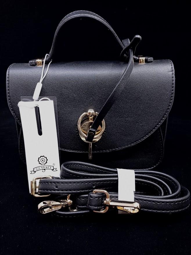 Gussaci Dámská elegantní kabelka (JH9425B) Základní barvy: černá