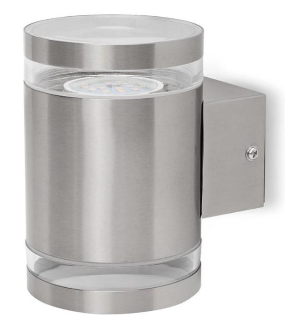 Smartwares 10.068.55 venkovní nástěnné LED osvětlení 14W, nerezová ocel