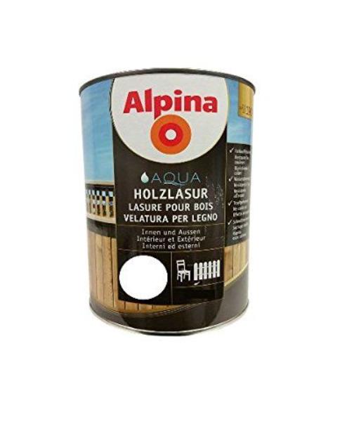 Alpina aqua holzlasur SOE 50 mahagon, 0,75L