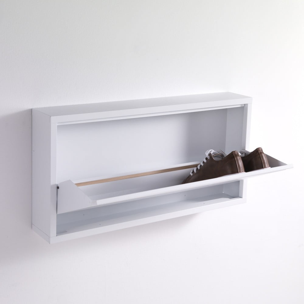 Tomasucci Bílý botník Terry, 75 x 37,5 cm