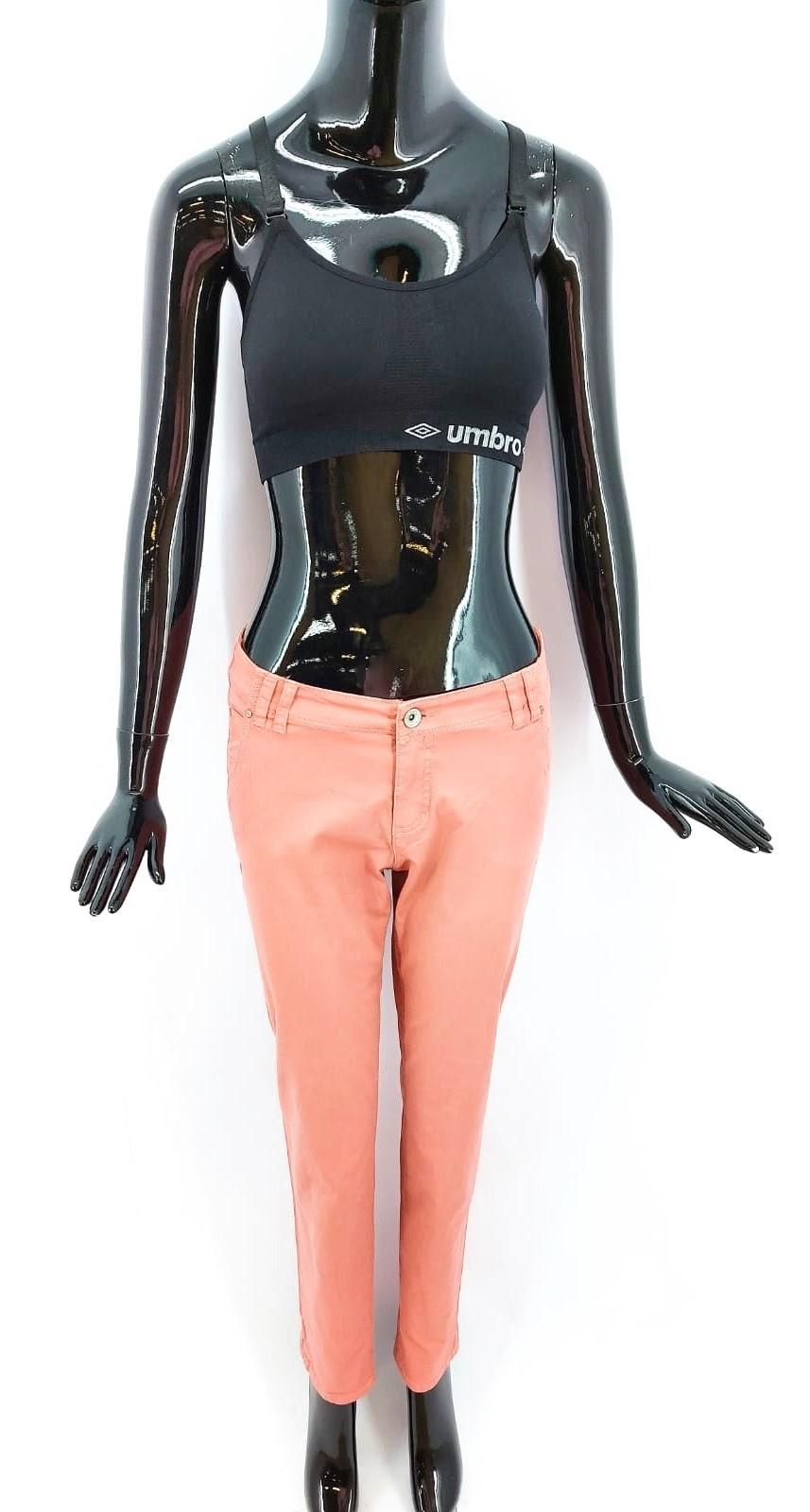 Charles Vögele Dámské plátěné kalhoty, růžové *Velikosti textil: 40