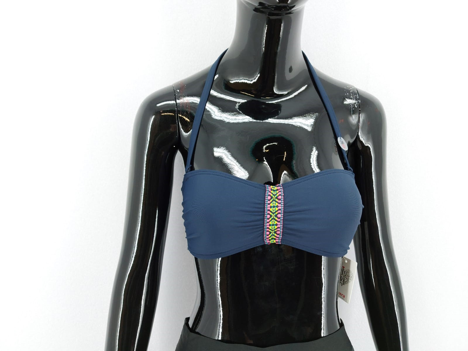 Livera Dámské plavky-horní díl, tmavě modré *Velikosti textil: 36B