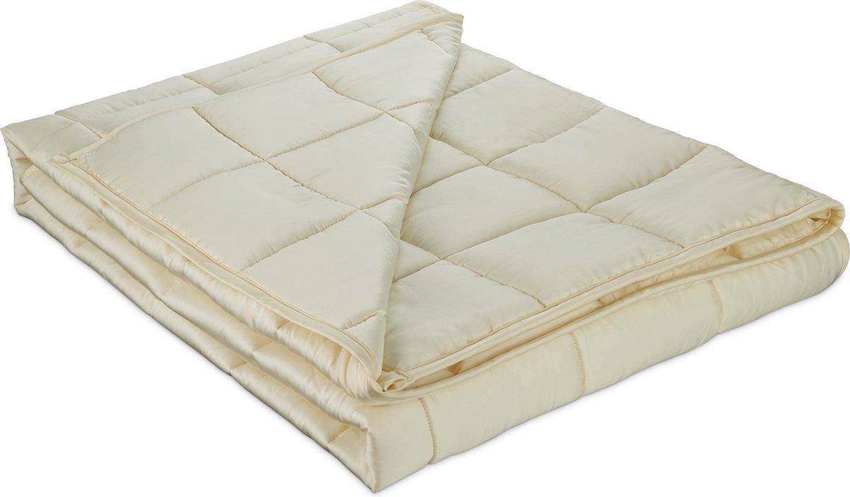 Kustaa Zátěžová deka z bambusového vlákna - 152x203 cm, 6,75 kg, krémová