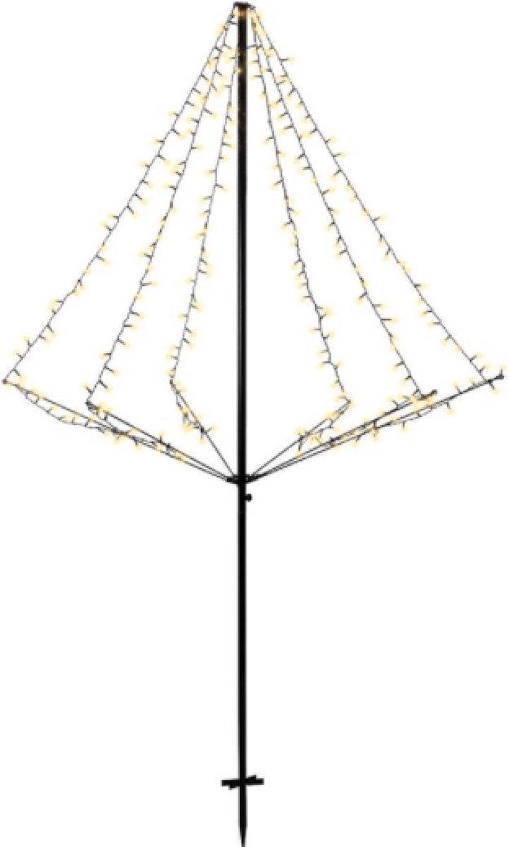 Vánoční venkovní LED stromeček 200 cm, 240 LED