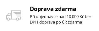 Při objednávce nad 10 000 bez DPH doprava makrolonu po ČR zdarma
