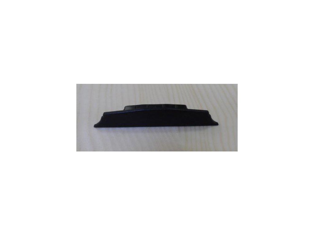 Krytka na přítlačné lišty,černá