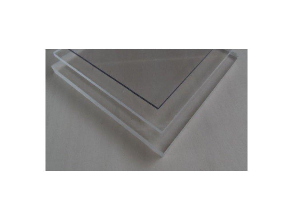 2x1020x1520,plný polykarbonát Makrolon čirý s UV