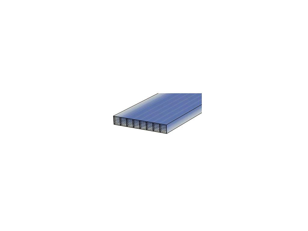 Makrolon,16x2100x7000mm,bronz,7/16