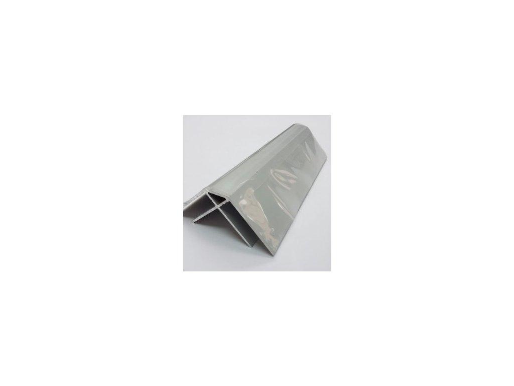 AL rohový Profil 10/6000,ELOX s krycí fólií