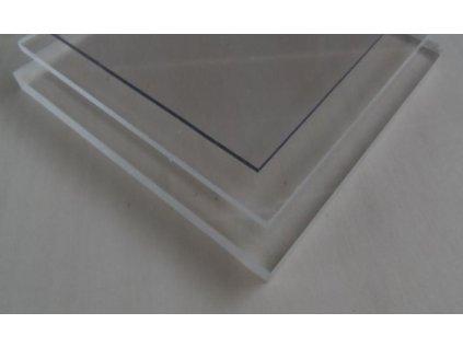 3x1020x3050,plný polykarbonát Makrolon čirý s UV