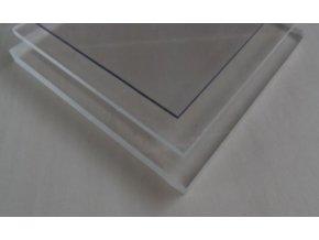 5x2050x3050,plný polykarbonát Makrolon čirý s UV