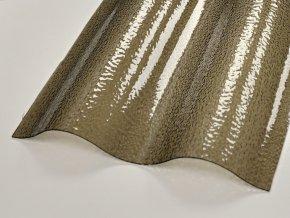 Vlna,1045x6000mm,bronz,krupička