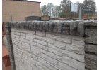 Betonový panel oboustranný 1440 x 300 x 45 mm - přírodní