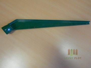 Bavolet 1-stranný na sloupek 38 mm-Zn+PVC