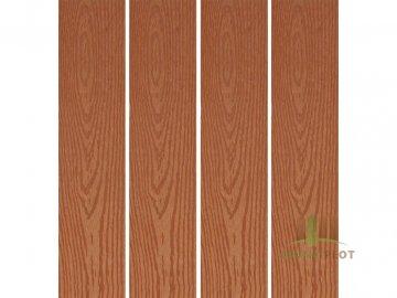 Dřevoplast WPC hladká/dřevo 85x13x délka dle výběru, barva: zlatý dub (barva: zlatý dub, délka: 3000 mm)