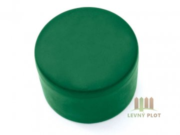 Klobouček sloupkový PVC 38 mm zelená
