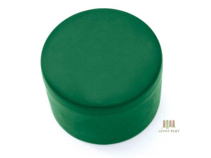 Klobouček sloupkový PVC 48 mm zelená