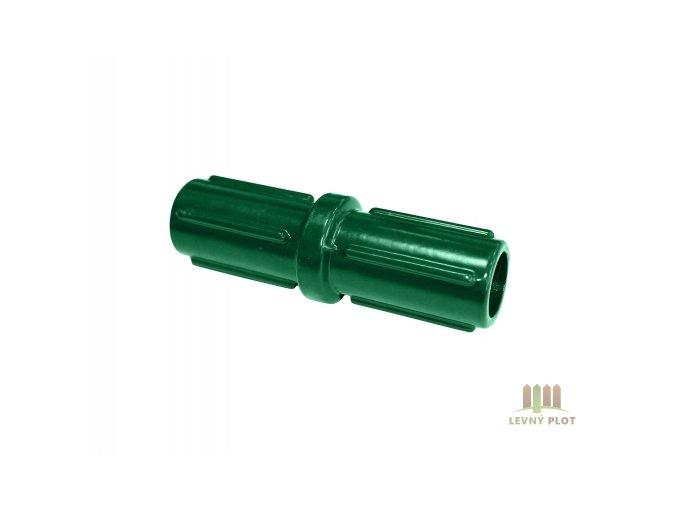 Nádstavec pro sloupek 48 mm, zelený