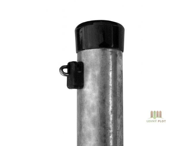 Plotový sloupek zinkovaný 48/1,5/2600 vč.čepičky a držáku ND